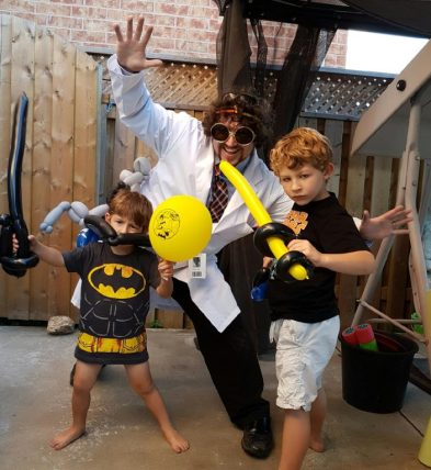 Barnacle Bart Batman Party