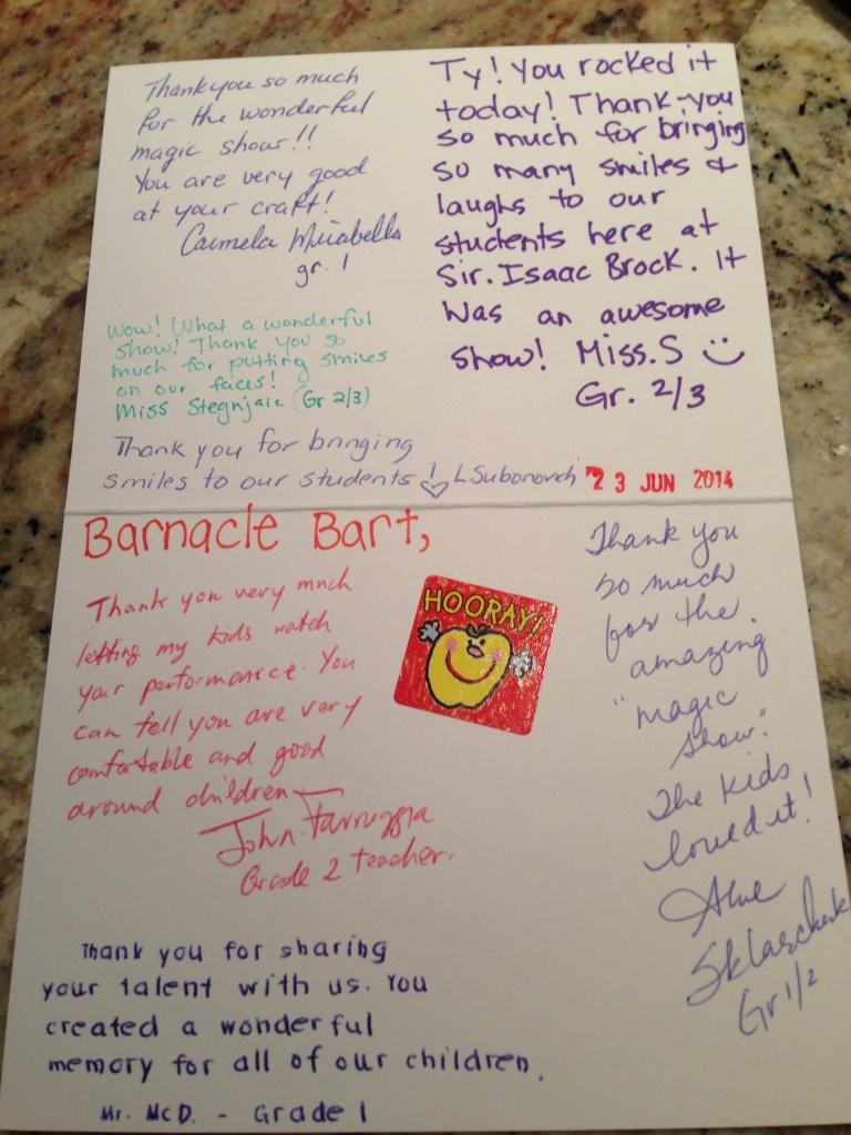 Barnacle Bart Review