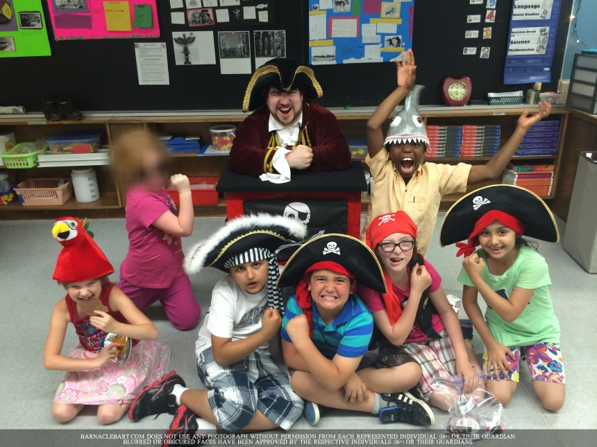 Toronto's Funny Pirate Kids Magician