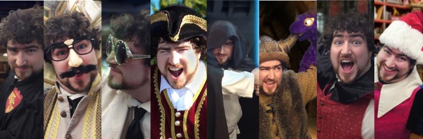 Barnacle Bart Wizards Scientists Superheroes Pirates Star Wars Vikings Vampires Christmas