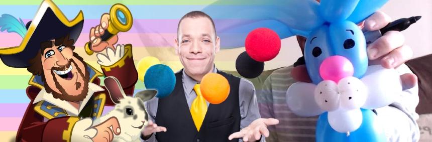 Barnacle Bart Easter Balloons with Magic Simon, Dragon, and Little Phantom