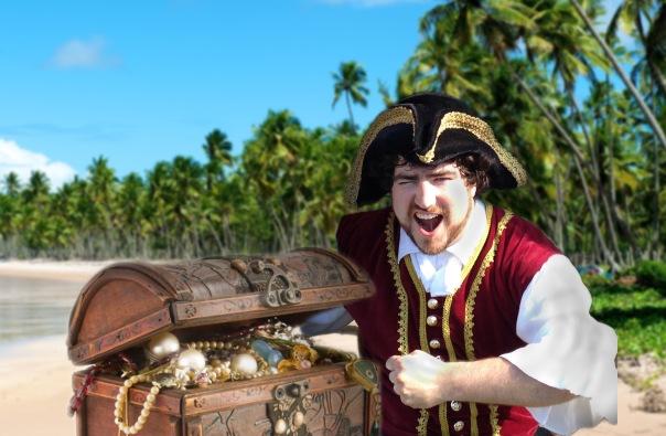 Barnacle Bart Magic Birthday Entertainer Toronto pirates treasure