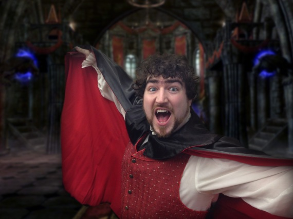 Barnacle Bart Magic Birthday Entertainer Toronto vampire halloween