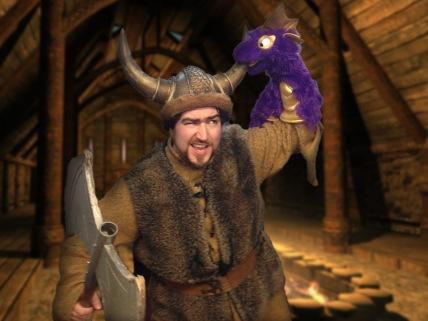 Barnacle Bart Magic Birthday Entertainer Toronto how to train your dragon viking