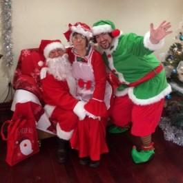 Barnacle Bart Magic Birthday Entertainer Toronto santa christmas