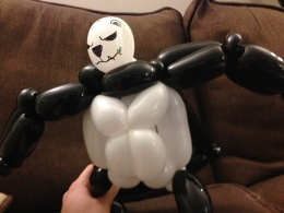 Barnacle Bart Magic Birthday Entertainer Toronto pokemon Pangoro Balloon