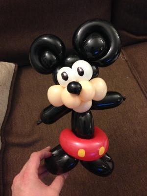Barnacle Bart Magic Birthday Entertainer Toronto Mickey mouse Balloon
