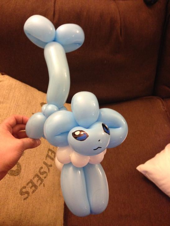 Barnacle Bart Magic Birthday Entertainer Toronto pokemon vaporeon balloon