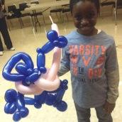 Barnacle Bart Magic Birthday Entertainer Toronto greninja balloon