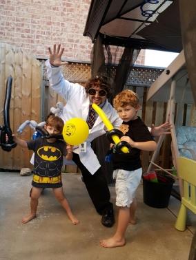 Barnacle Bart Magic Birthday Entertainer Toronto Batman
