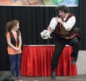 Barnacle Bart Magic Birthday Entertainer Toronto Kidapalooza shark markham fair